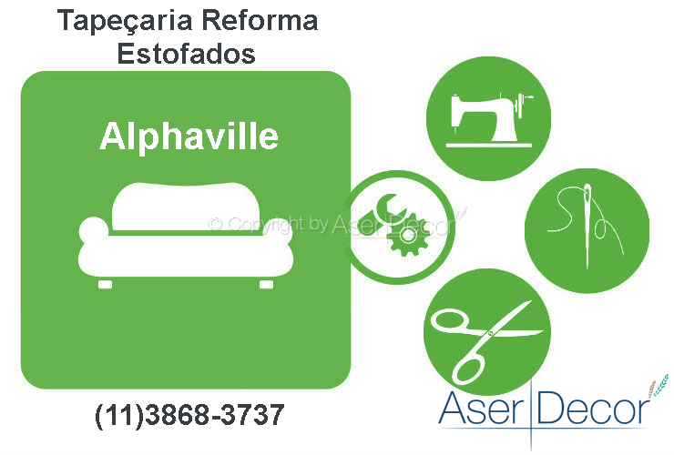 Reforma de Estofados Alphaville Tapeçaria Alto Padrão