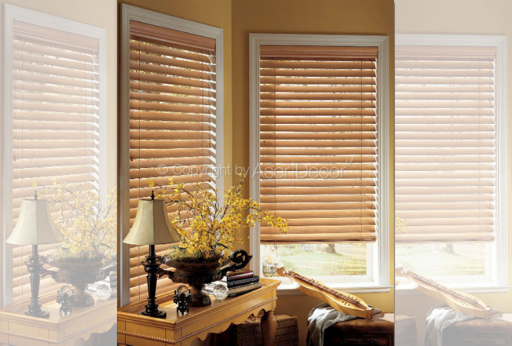 Persianas Madeira Country Woods Hunter Douglas Luxaflex Tatuapé