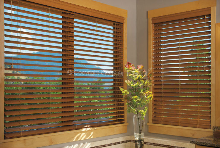 Persianas Madeira Country Woods Hunter Douglas Luxaflex Moema