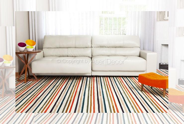Sofá Mytti Retrátil Reclinável Couro Branco 2 Lugares Sala Home