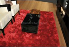 Tapete Besond Luxus Shaggy Luxo 40mm Vermelho Living
