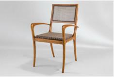Cadeira África Pedro Mendes Designer Braço Marrom Sala