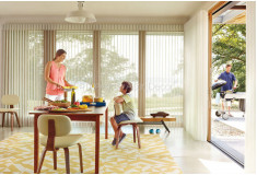 Cortinas Luminette Hunter Douglas Luxaflex Santa Cruz
