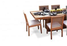 Conjunto Sala de Jantar Serathd Madeira Demolição 6 Lugares