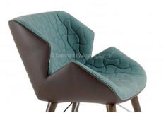 Poltrona Laisslle Design Linho Azul Sala