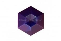 Diamante Acabamento Lazúli Furta-cor 3D Manufatti Revestimento