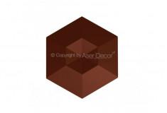 Acabamento Diamante Marrom 3D Manufatti Revestimento