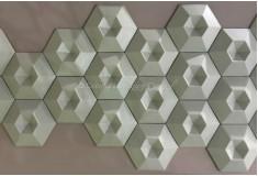 Manufatti Diamante Tiffany 3D Revestimento Acabamento Fino