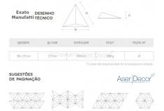 Acabamento Exato Pérola 3D Manufatti Revestimento