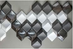 Losango Manufatti Carbon Acetinado 3D Manufatti Acabamentos