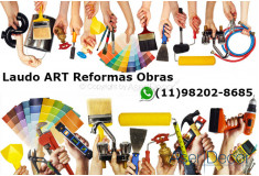 ART Laudo Aclimação Reformas Obras