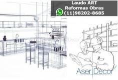 ART Laudo Alto de Pinheiros Reformas Obras