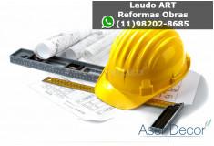 ART Laudo Água Fria Reformas Obras