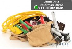 ART Gesso Instalação Documento Reformas Obras