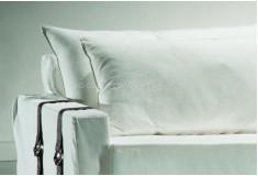 Sofá Akrebit Capa Living Sarja Off White 2 Lugares Sala de Estar