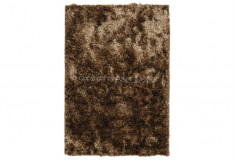 Tapete Besond Luxus Shaggy Mesclado 40mm Marrom Bege Sala Home