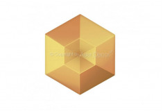 Diamante Acabamento Bronze 3D Manufatti Revestimento
