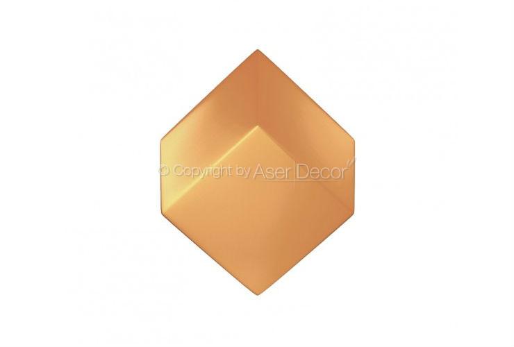 Losango Acabamento Bronze 3D Manufatti Revestimento