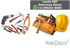 ART Fechamento de Sacada Documento Reformas Obras