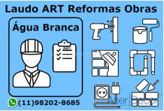 ART Laudo Água Branca Reformas Obras