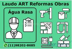 ART Laudo Água Rasa Reformas Obras