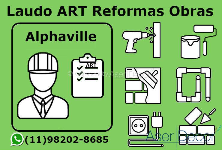 ART Laudo Alphaville Reformas Obras