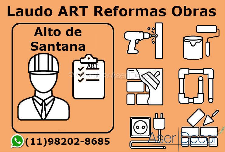 ART Laudo Alto de Santana Reformas Obras