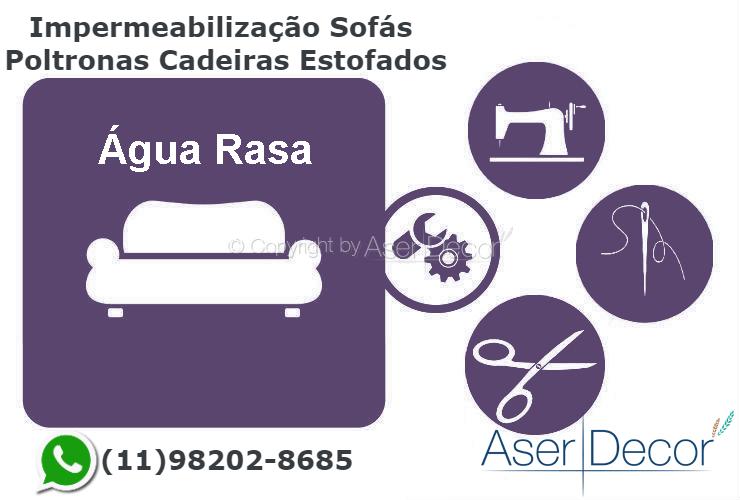 Impermeabilização Cadeiras Água Rasa Tecidos Protegidos