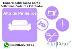 Impermeabilização Cadeiras Alto de Pinheiros Tecidos Protegidos