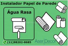 Aplicação Papel de Parede Água Rasa