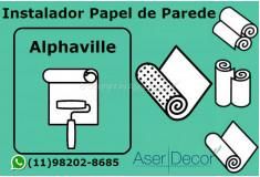 Aplicação Papel de Parede Alphaville