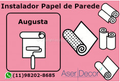 Aplicação Papel de Parede Augusta