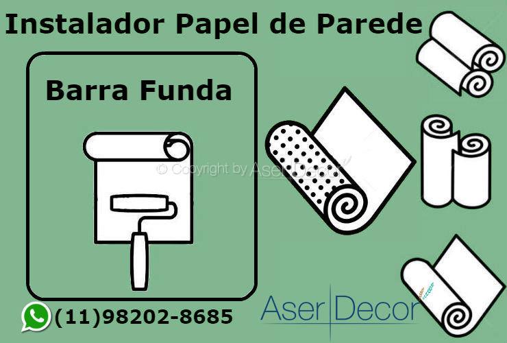 Aplicação Papel de Parede Barra Funda