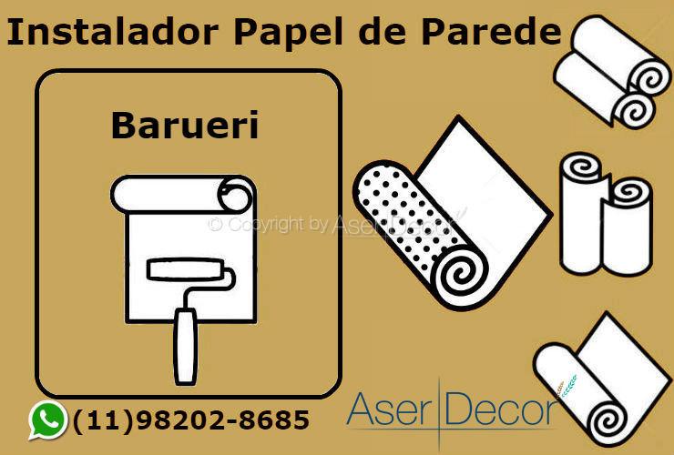Aplicação Papel de Parede Barueri