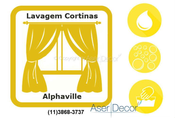 Serviço de Lavagem de Cortinas Alphaville