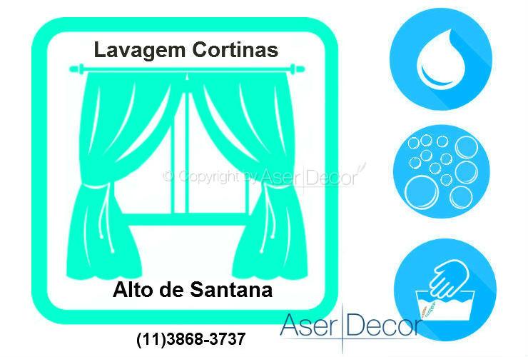 Serviço de Lavagem de Cortinas Alto de Santana