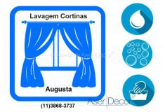 Serviço de Lavagem de Cortinas Augusta
