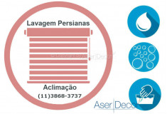 Serviço de Lavagem de Persianas Aclimação