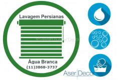 Serviço de Lavagem de Persianas Água Branca