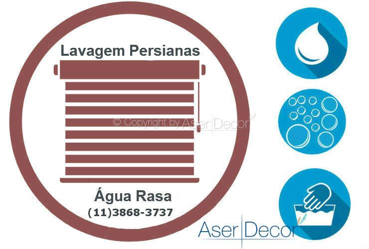 Serviço de Lavagem de Persianas Água Rasa