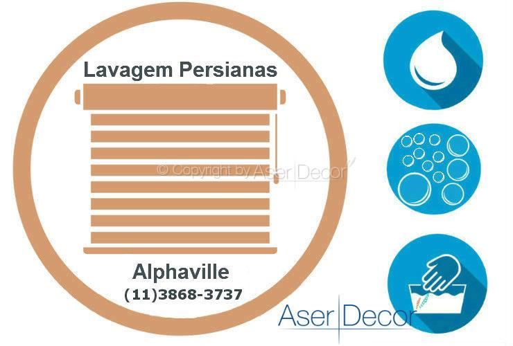 Serviço de Lavagem de Persianas Alphaville