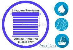 Serviço de Lavagem de Persianas Alto de Pinheiros