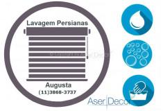 Serviço de Lavagem de Persianas Augusta