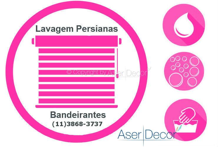 Serviço de Lavagem de Persianas Bandeirantes