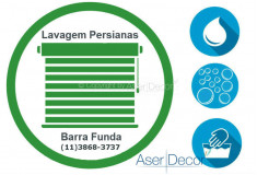Serviço de Lavagem de Persianas Barra Funda