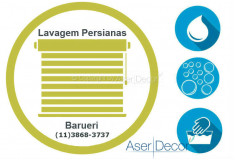 Serviço de Lavagem de Persianas Barueri