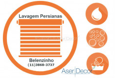 Serviço de Lavagem de Persianas Belém Belenzinho