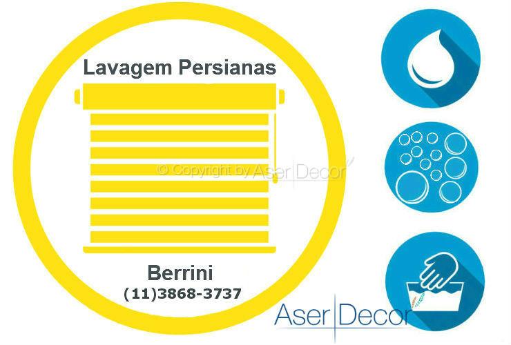 Serviço de Lavagem de Persianas Berrini