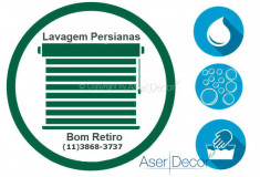 Serviço de Lavagem de Persianas Bom Retiro
