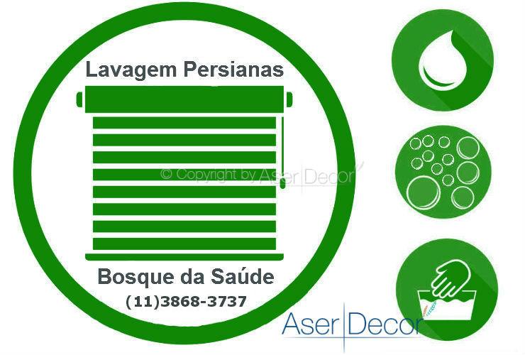 Serviço de Lavagem de Persianas Bosque da Saúde